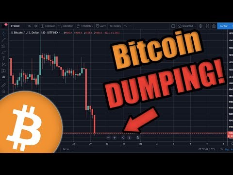 BREAKING: Bitcoin Dumping RIGHT NOW 😱 – Here's Why  [Just My Opinion]