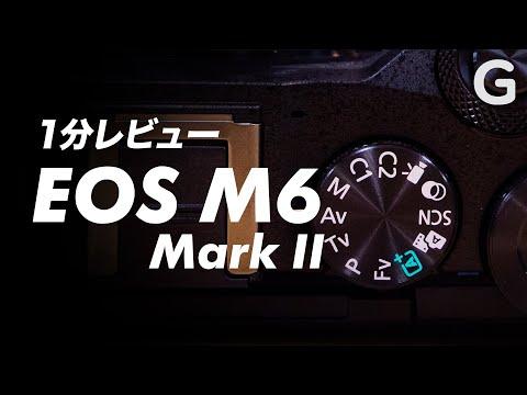 EOS M6 Mark IIのシャッター音、脳から汁でそう 【1分レビュー】