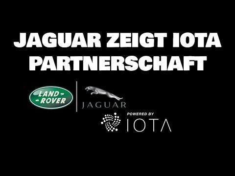 IOTA zeigt Partnerschaft mit Jaguar I-Pace Prototyp