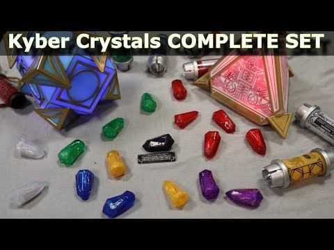 Star Wars Galaxy's Edge – Holocron and Complete Kyber Crystal Collection ( All Audio )