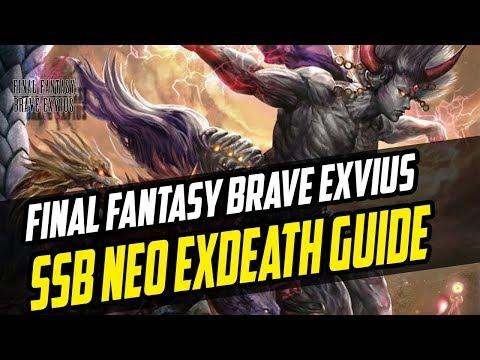 From Neo to ZERO – Neo Exdeath Guide Series Bonus Boss Battle  – Final Fantasy Brave Exvius