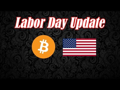 Bitcoin Labor Day Update. BTC Hit the Square Up! Crypto Technical Analysis