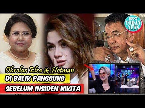 Obrolan Elza Syarief-Hotman di Balik Panggung Sebelum Insiden Nikita Diungkap, Ada Perintah Sembunyi