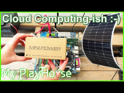 Solar Powered PC, maybe for Cryptocurrency Mining – 868