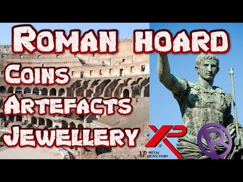 OMG! We Found a Roman Coin Hoard and Ancient Artefacts. Metal Detecting UK.