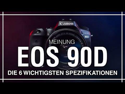 Canon 90D – Die 6 wichtigsten Spezifikationen! | Milou PD Canon Eos 90d