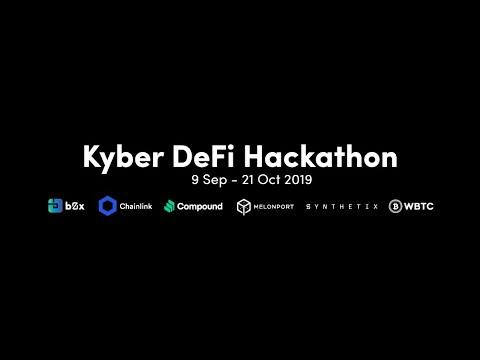 Kyber #DeFi Virtual Hackathon (9 Sep – 21 Oct)