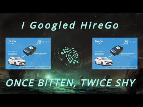 I Googled HireGo – Once Bitten, Twice Shy – Iota and Erc20 tokens