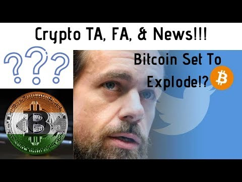 Bitcoin Set To Explode!? Jack Dorsey Bitcoin Only! India Crypto Love Hate Relationship? RPD Giveaway