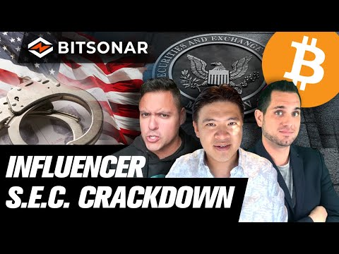Jail Time? SEC Crackdown of Crypto Influencers Begins!! Bitcoin ETF an Actual ETF?