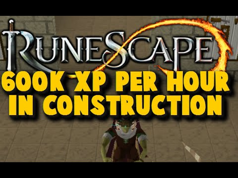 AFK 600K Construction Xp Per Hour using Protean Planks – iAm Naveed Runescape 2015