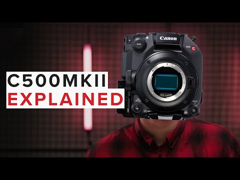 Canon EOS C500 Mark II  – Explained