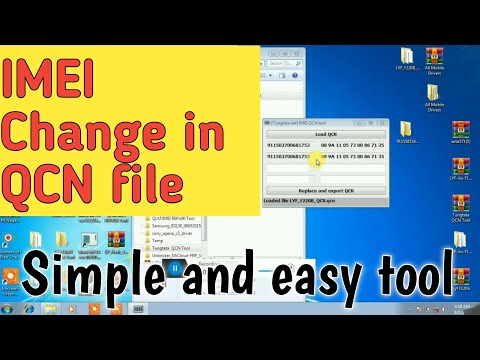 IMEI change in qcn file! Easy and working tool!