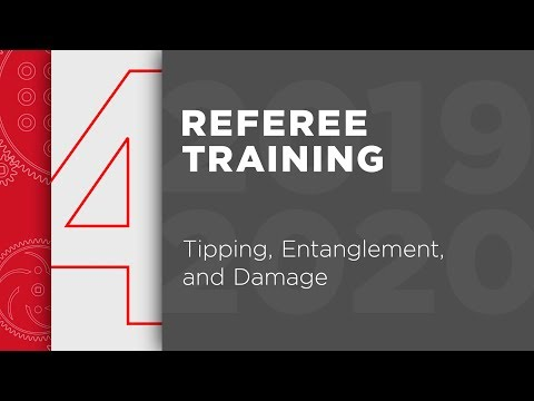 VRC Tower Takeover – Referee Training – Chapter 4: Tipping, Entanglement, and Damage