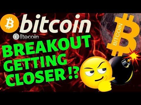 👀BITCOIN BREAKOUT GETTING CLOSER!!!??👀bitcoin litecoin price prediction, analysis, news, trading