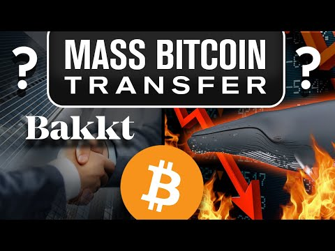 $1 Billion BTC on the Move! Why? Bakkt or Whale Dump Soon!?
