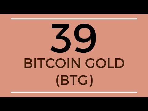 Bitcoin Gold BTG Technical Analysis (5 Sep 2019)