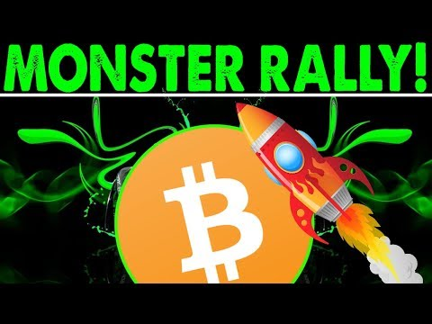 MONSTER BITCOIN RALLY!  – 200% INCREASE IN BITCOIN! – HOPE FOR ALTCOINS!