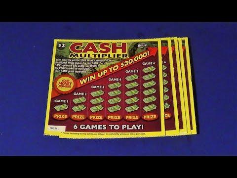 Scratchers On Other Days 335: CASH MULTIPLIER + NEW SEPT TIX INFO FL Lottery