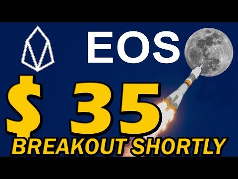 EOS COIN PRICE PREDICTION – EOS BIG BREAKOUT SHORTLY #LiveDayTrader