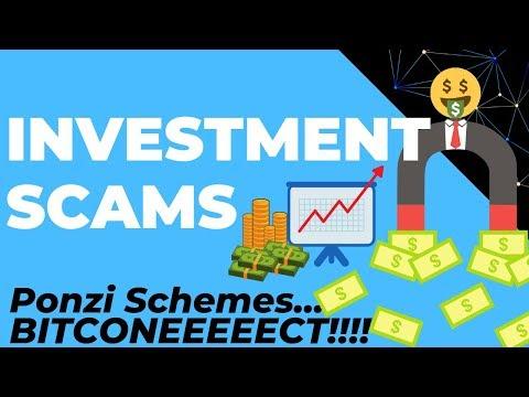 Ponzi Schemes, Crypto Investment Scams. (USI Tech, Bitconnect, Coinexx)