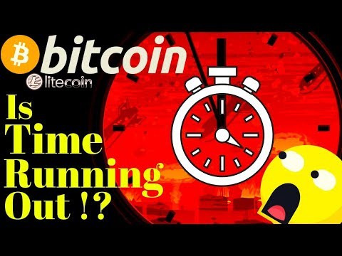 ⏲BITCOIN running out of time!?⏲bitcoin litecoin price prediction, analysis, news, trading