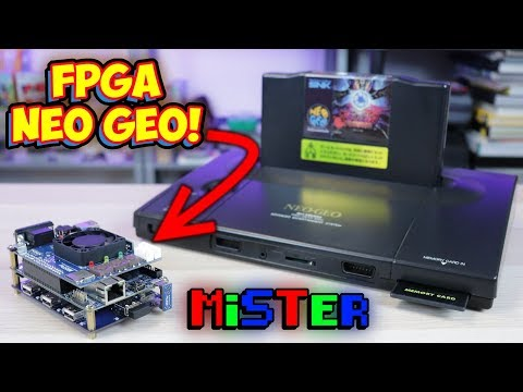 FPGA SNK Neo Geo Is Here! New MiSTer Core Released!