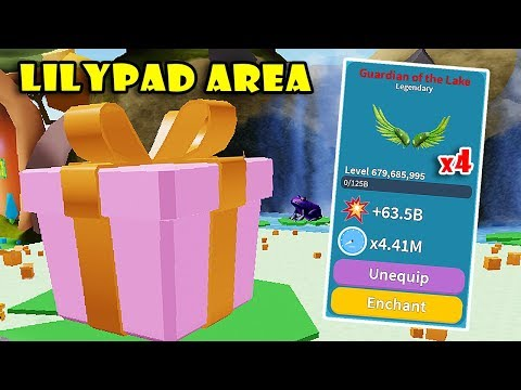 NEW UPDATE! LILYPAD PALACE AREA + HUGE GIFT BOX & NEW LEGENDAY HATS In UNBOXING SIMULATOR! [Roblox]