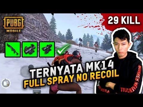 TERNYATA MK-14 FULL SPRAY GA ADA RECOIL NYA  – PUBG MOBILE INDONESIA