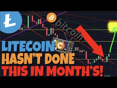 LITECOIN IS ABOUT TO DO SOMETHING FOR THE FIRST TIME IN MONTH'S btc ltc crypto 2019 news price