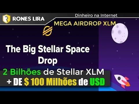 MEGA AIRDROP STELLAR LUMENS | 2 BILHÕES DE XLM | 18 MILHÕES DE DÓLARES
