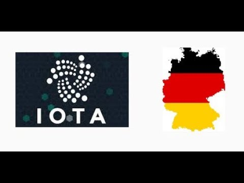 IOTA(MIOTA) implemented in Germany, Utilization for IoT is here!