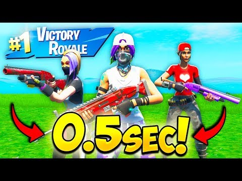 *WORLDS FASTEST* TRIO RANKED ARENA MATCH!! – Fortnite Funny Fails and WTF Moments! #676
