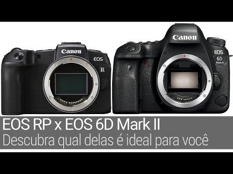 EOS 6D Mark II versus EOS RP – qual comprar? Baseado em uso real e não em specs.