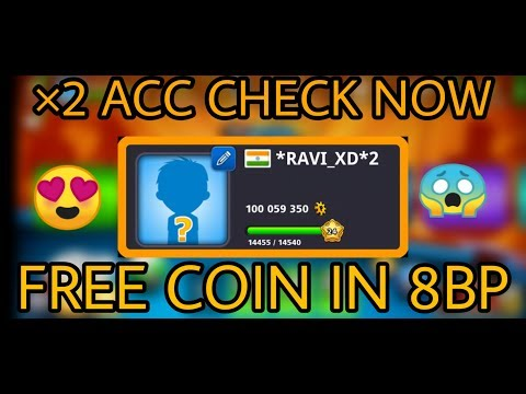 GET A FREE FOR LOVER 8BALLPOOl COIN | MS GAMMER| OMG