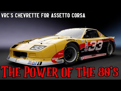American Fury! VRC's Chevrette GTO Mod Car for Assetto Corsa