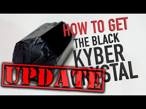 BLACK KYBER CRYSTAL UPDATE: How To Get The BLACK KYBER CRYSTAL Follow-Up | RIP Flash Light Trick