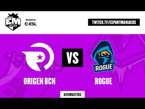 Origen BCN vs Rogue E.C.   EU Masters Summer 2019 – Play-ins Day 1 En Español