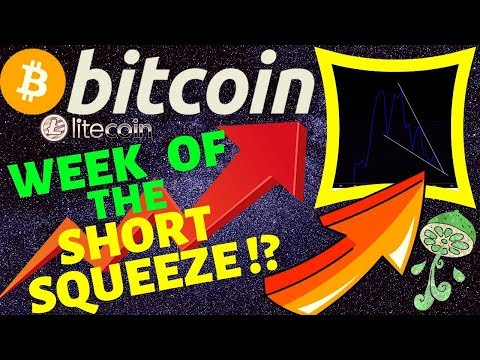 🚀BITCOIN WEEK OF THE SHORT SQUEEZE !?🚀 bitcoin litecoin price prediction, analysis, news, trading