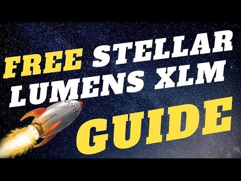 How To Get Free Stellar Lumens XLM (Guide)