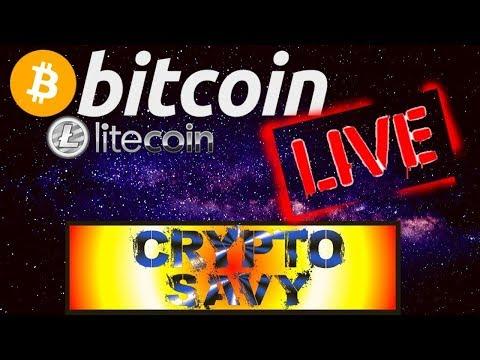 🌟Crypto Savy Live Stream🌟 bitcoin litecoin price prediction, analysis, news, trading