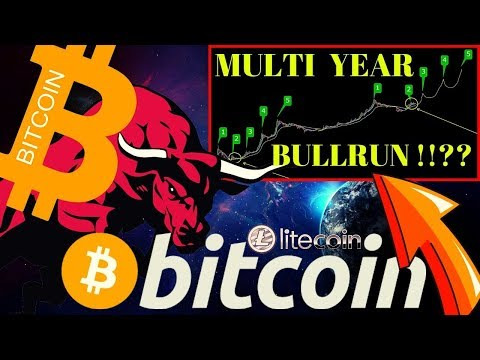 🌟BITCOIN MULTI YEAR BULLRUN ?!?!🌟bitcoin litecoin price prediction, analysis, news, trading