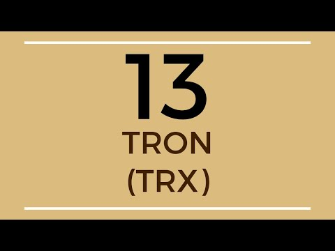 Tron TRX Price Prediction (10 Sep 2019)