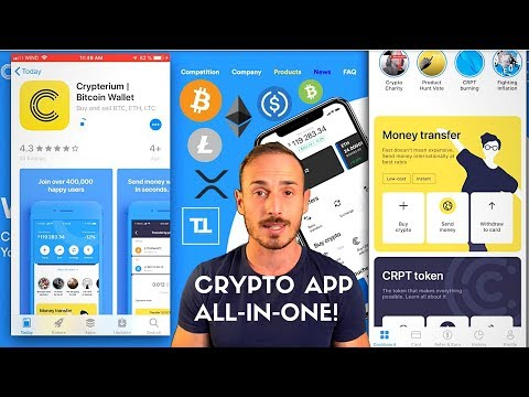 Compra, Vendi, Scambia, Carta Crypto. App All-In-One! – Crypterium