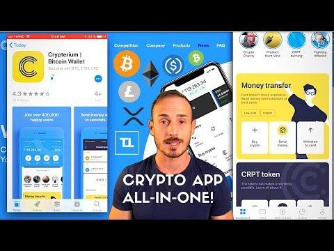 Compra, Vendi, Scambia, Carta Crypto. App All-In-One! – Crypterium