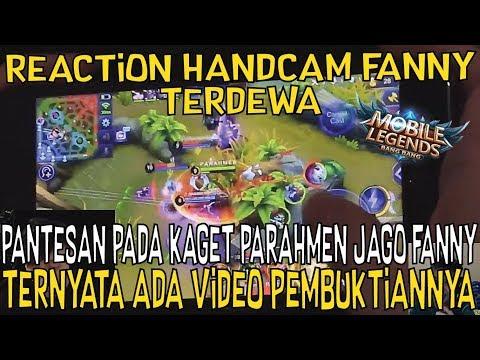 REACTION HANDCAM FANNY TERKUAT DIBUMI, PANTES GA ADA YG MAU PERCAYA DIA BISA FANNY!!