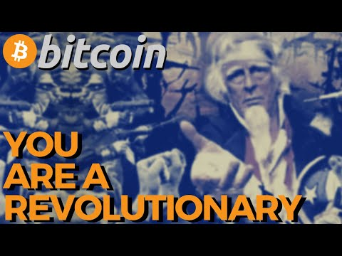 If You HODL BITCOIN You Are a REVOLUTIONARY | Cryptocurrency & Bitcoin news