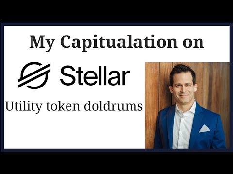 My Stellar Lumen captiulation.  Network still growing, but value not accruing to XLM token for now