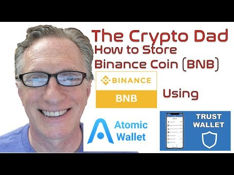 How to Store Binance Coin (BNB) using Atomic Wallet & Trust Wallet