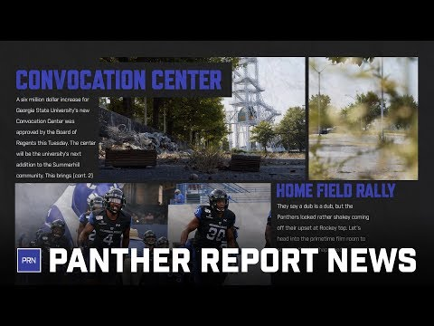 Convocation center budget increase and Panthers beat Furman: (PRN S3 E3)